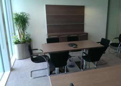 Image A - Meeting Table & Display Storage Unit. All with Image B £1000 (Excludes Chairs)