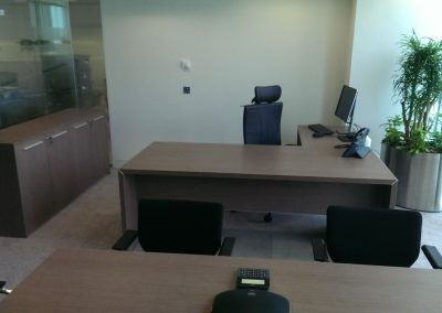 Image B Desk & Pedestal. All with Image A £1000 (excludes chairs)