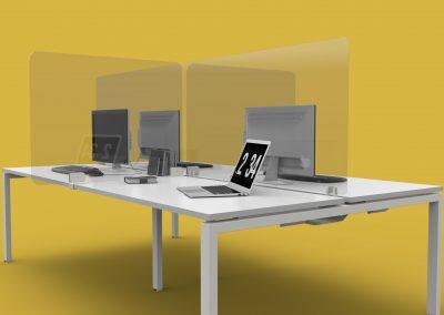 Perspex Desktop Screens